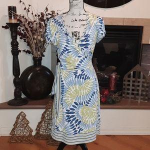 Bcbg maxazria side wrap dress above the knee M